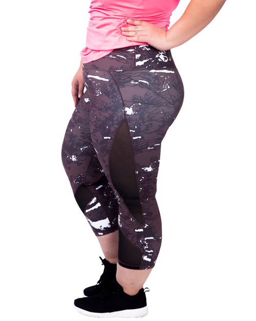 3/4 Tights | Plus Size Sports wear | Curvy Chic Sports