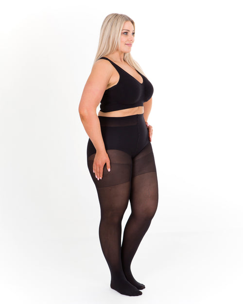 2 Pack 60 Denier Tights - Black- BUY 2 & SAVE $10
