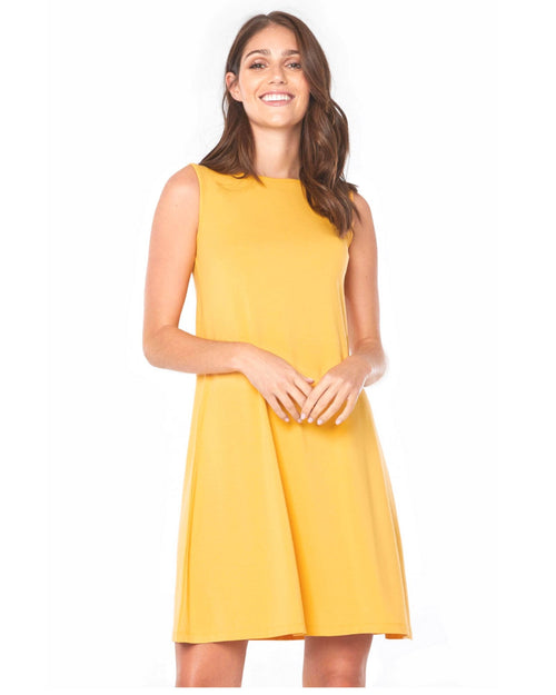Bamboo Adele  Dress - Golden Up to 2XL