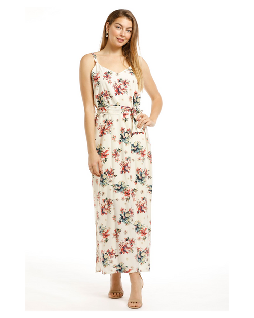 Alexa Chiffon Maxi Dress- Size 10-18