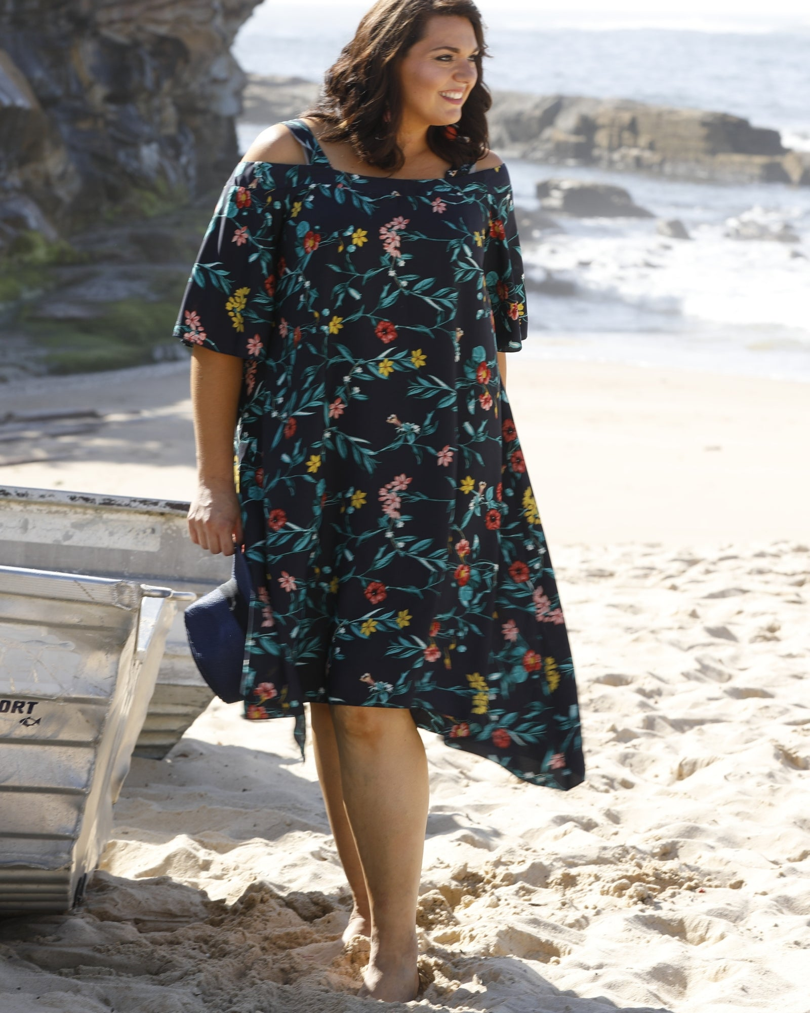 Allison Slip On Dress - Floral