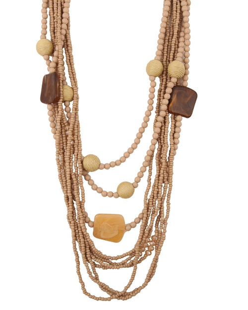 Blanchett Necklace - Almond