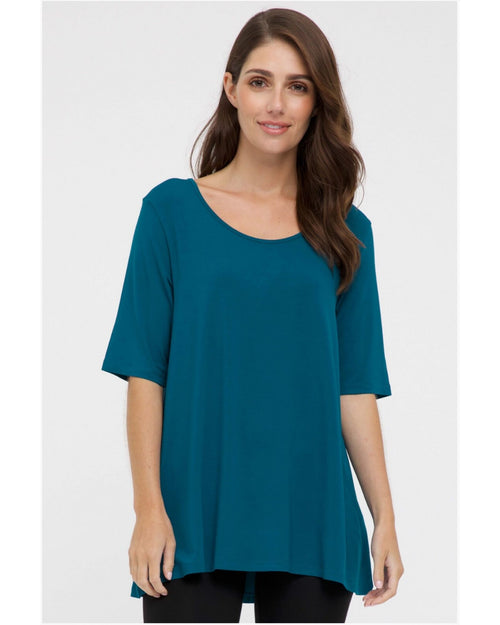 Carter Tunic - Teal - Sizes 10-24