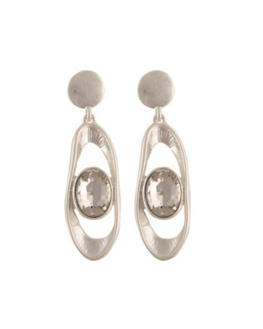 Taupo Earrings Silver