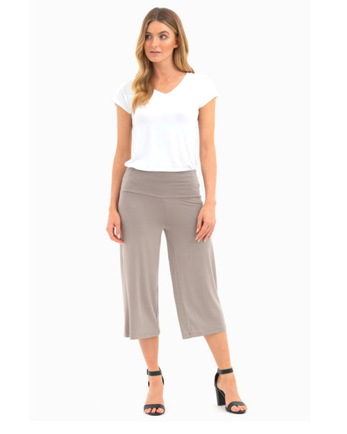 Bamboo Culottes- Stone Size 12-18