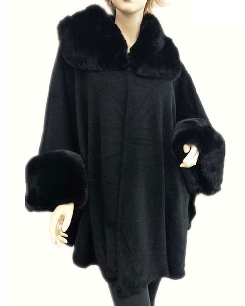 Luxurious Coat - Black