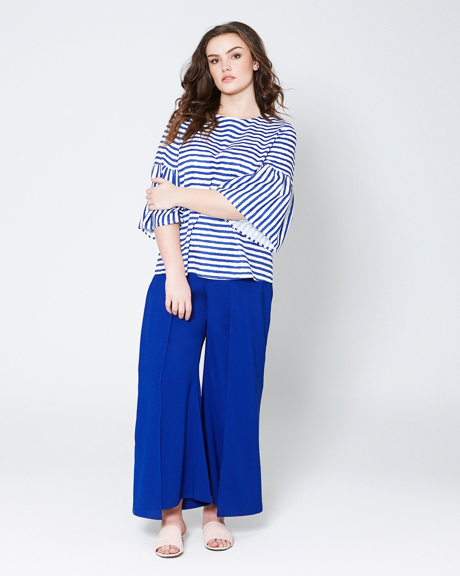 04192a1ba16 Overlaping Flowy Pants by MS. READ Malaysia (plus size clothing ...