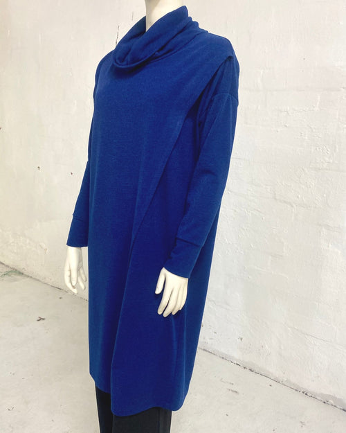 Knit Tunic Top Cobalt - Sizes 10-18