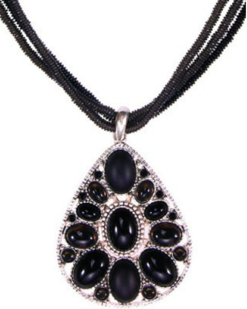 Tilly Necklace - Black - Pre order End Oct