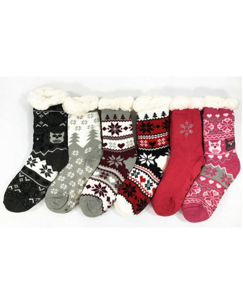 Plush Winter Sock Slipper Last Ones