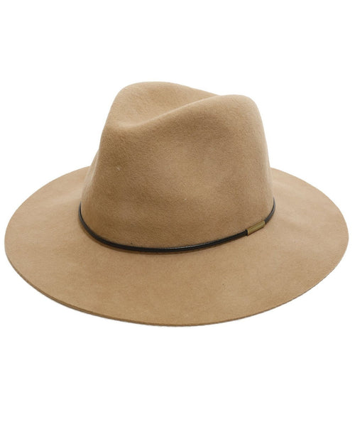 100% Wool Camel Felt Hat