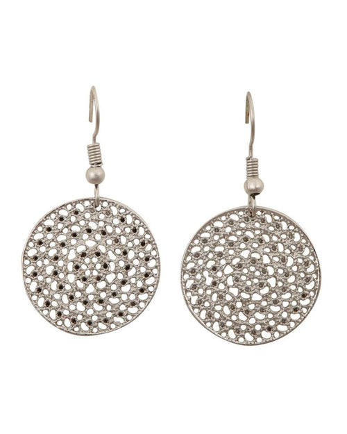 Taupo Earrings - Silver
