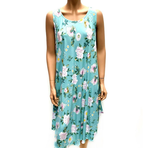 Scoop Neck Mid Length Dress