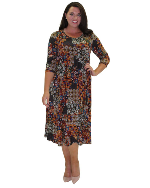 Abbey Winter Dress - size 14-26