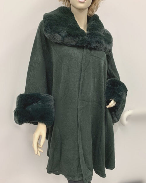 Luxurious Coat - Emerald