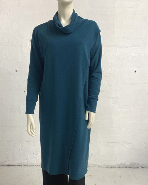 Knit Tunic Top Green - Sizes 10-18