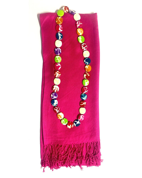 2 Piece Gift Set Scarf & Necklace Save $10