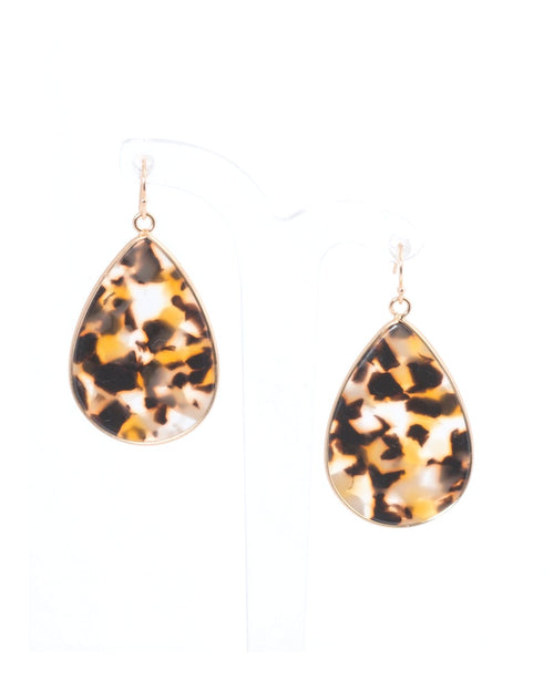 Gold Edged Tort Teardrops