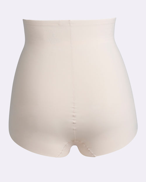 Harmony Medium Control High Waist Brief -Nude