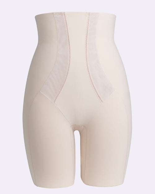 Harmony Medium Control High Waist Thigh Shaper - Nude