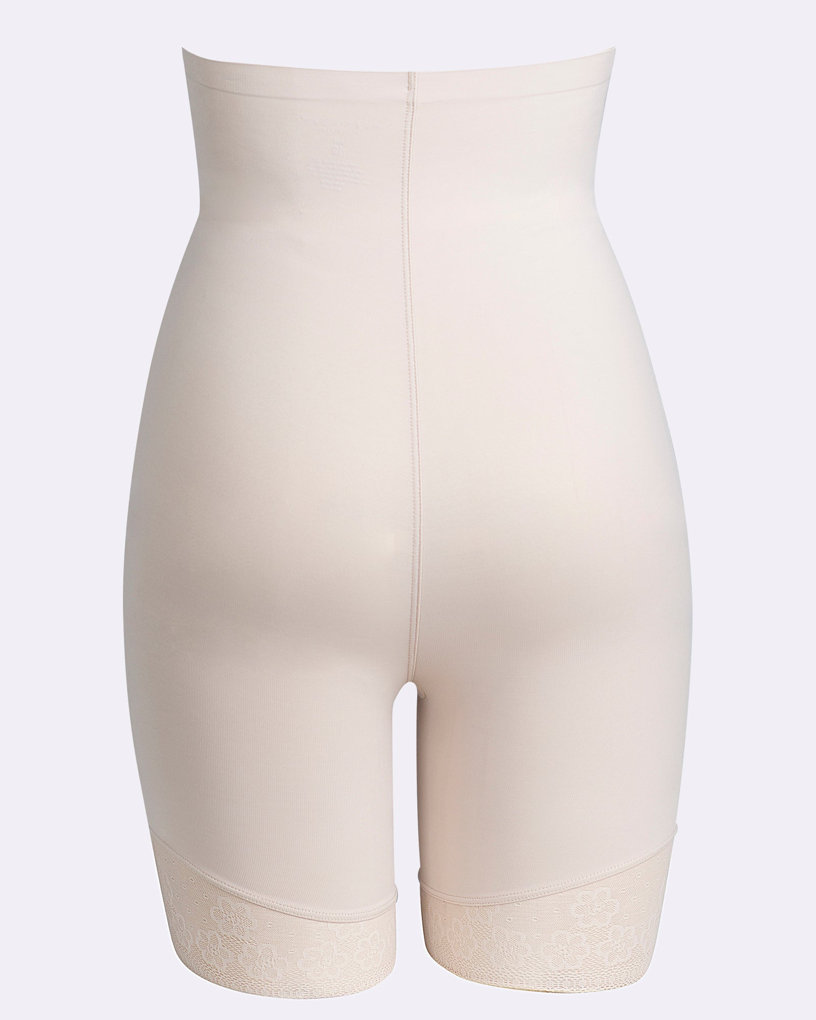 Essensuals Firm Control High Waisted Thigh Shaper - Nude