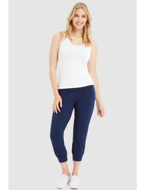 Bamboo Summer Slouch Pant - 10-22