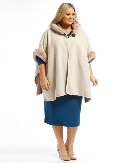 Plus size knitwear, plus size clothing, Cream cover up