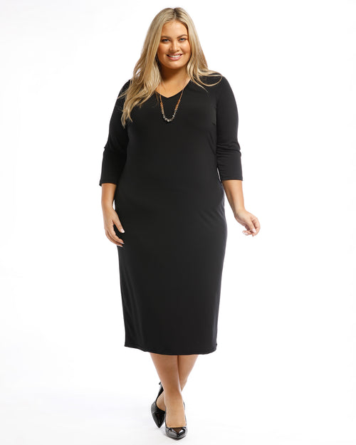 RTM, Plus size dress, Plus size clothing, plus size black dress