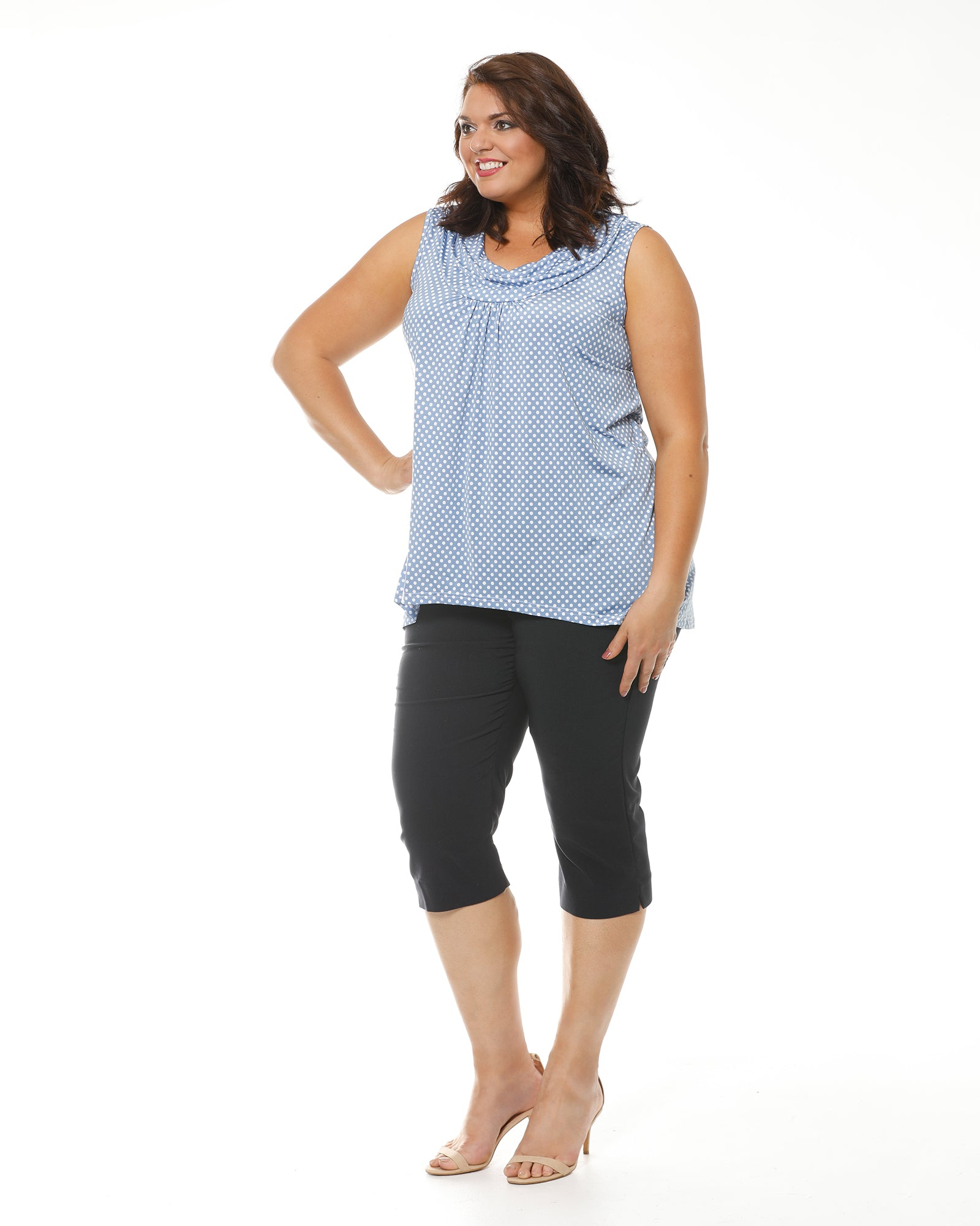 Navy Plus size pants , RTM, Room To Move