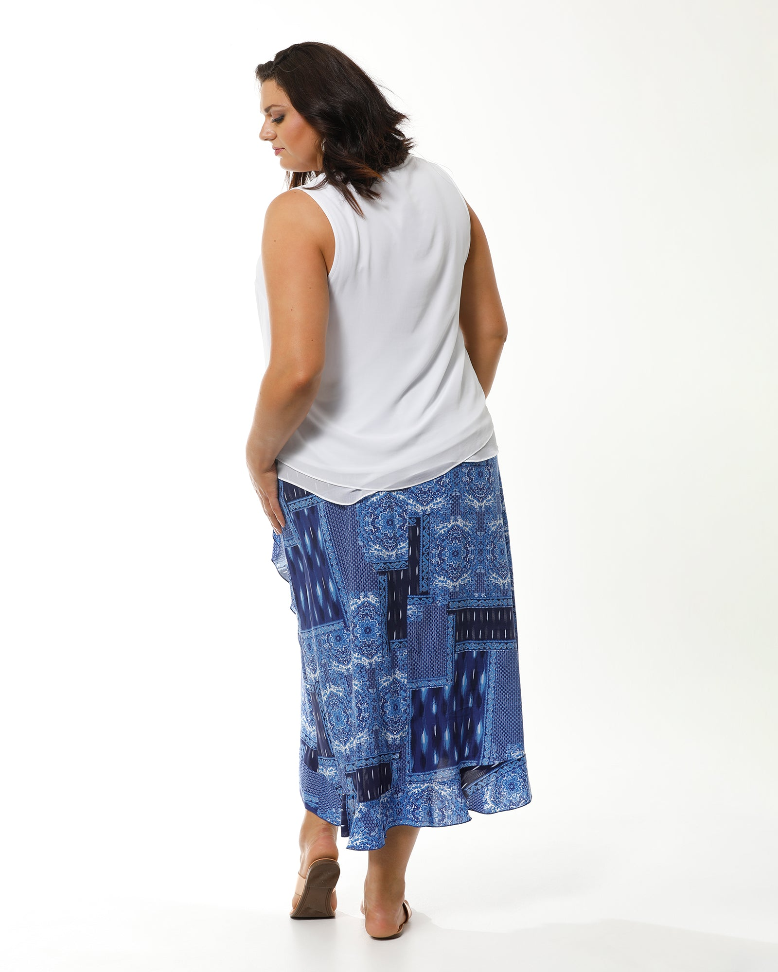 Plus size skirt, Room To Move, RTM