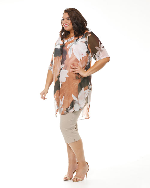 Plus size Tops, plus size shirts, Room To Move, RTM, ladies plus size clothing