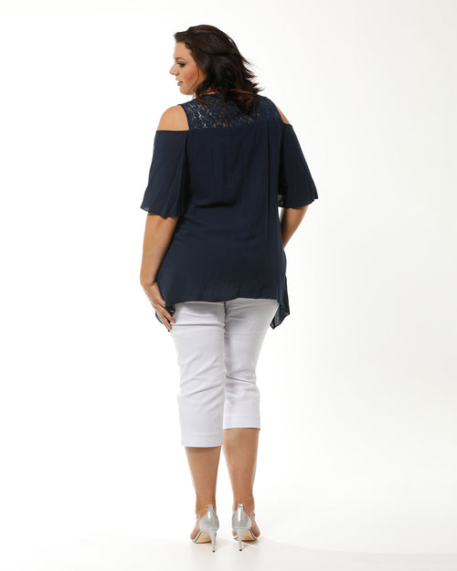 RTM, Room To Move, Navy Top