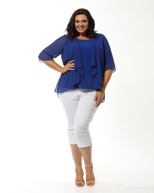 Linda 2 In 1 Tunic - Cobalt