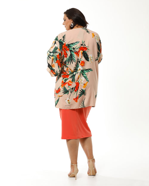 Rose Kaftan Throw
