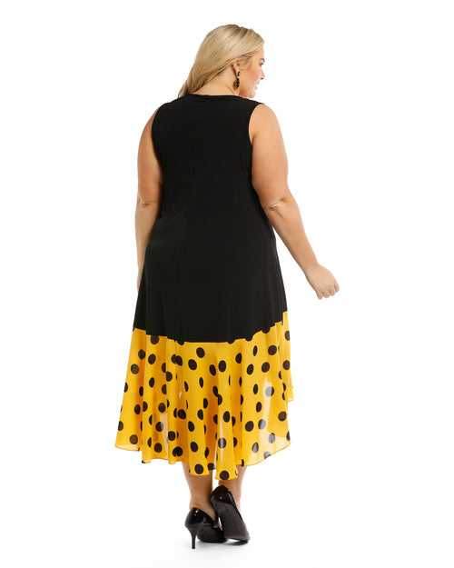 Spot Trim Dress size 14 -26