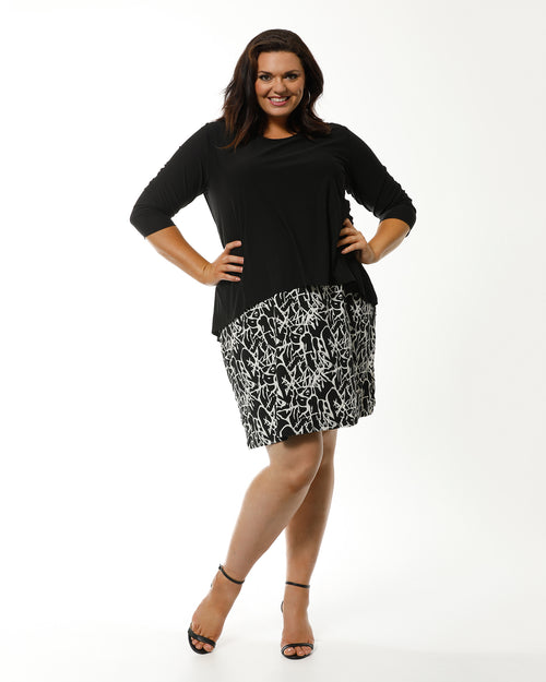 Cordelia Street, plus size dress