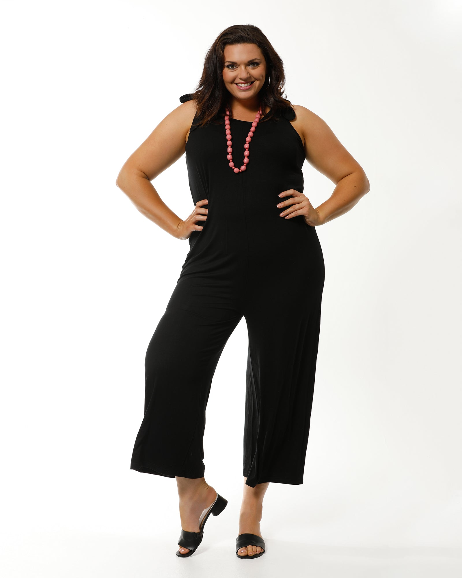 Bamboo Jumpsuit - Black