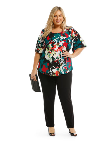 Shirley Floral  Print Top