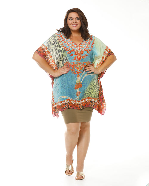 Bright Kaftan-short