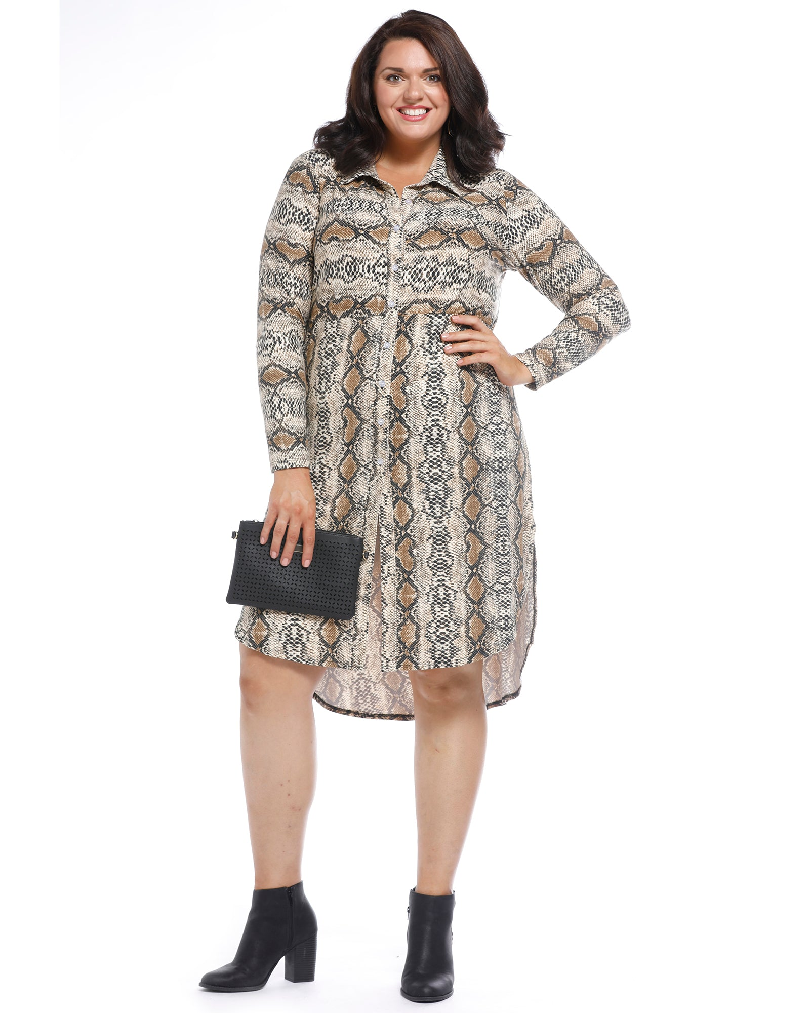 Animal Winter Dress- Size 18-24