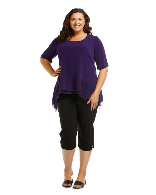 Vivian Tunic - Purple last size 14