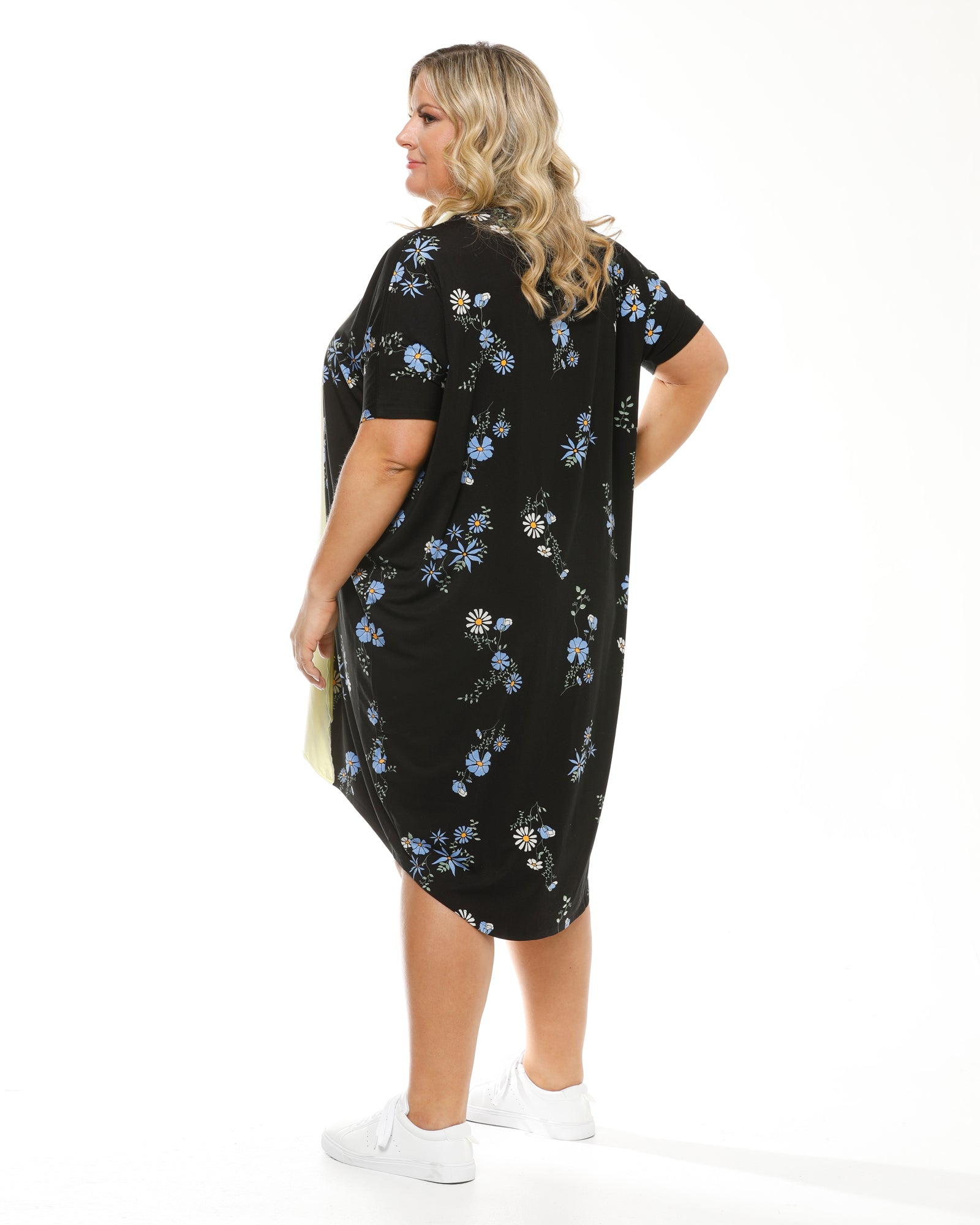 Bamboo Sybil Dress - Floral