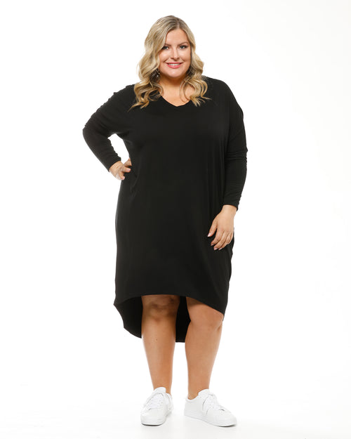 Bamboo Catherine Dress - Black
