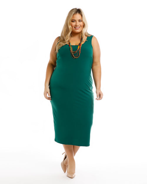 Roxanne Dress - Green