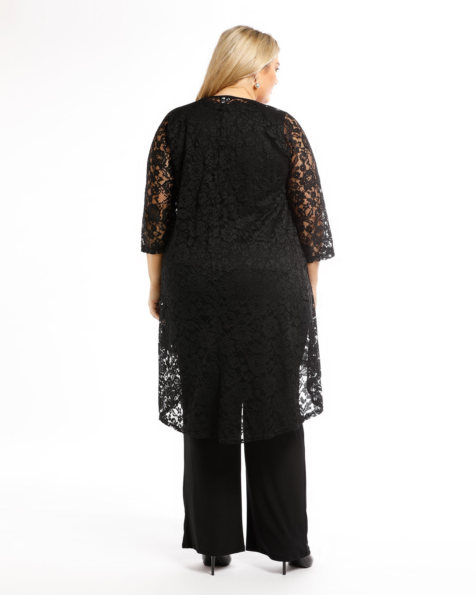 Ruth Lace Jacket -Black