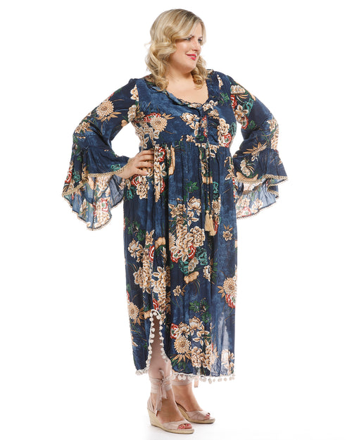 Liberty Dress Ashbury Print