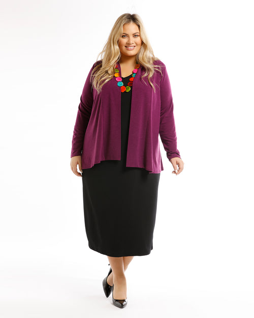 Dani Jacket - Purple size 12 only