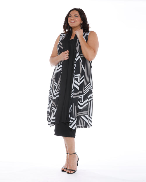 RTM Vest, Room To Move Plus size Cover up,