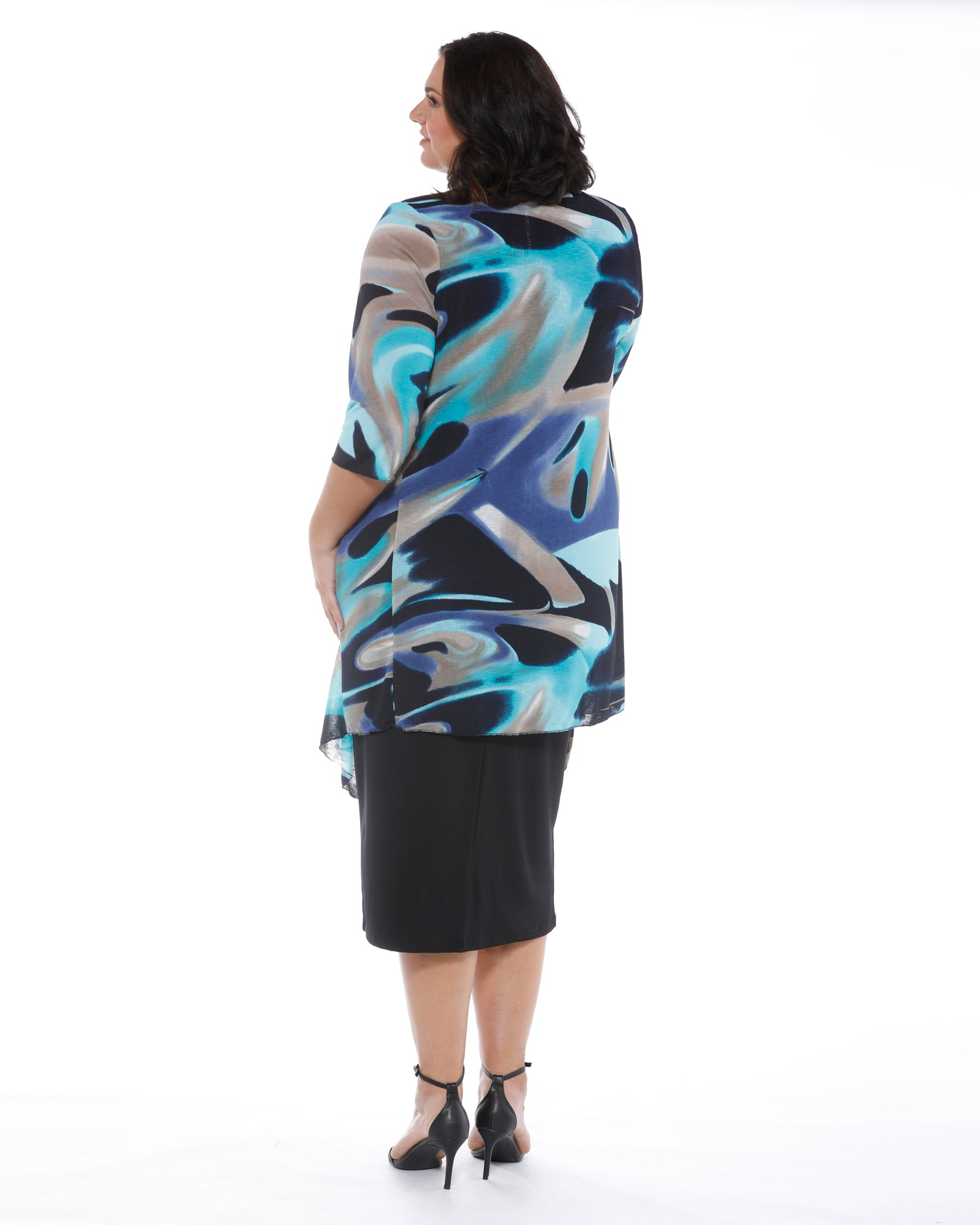 Plus size jacket, RTM Cover Up