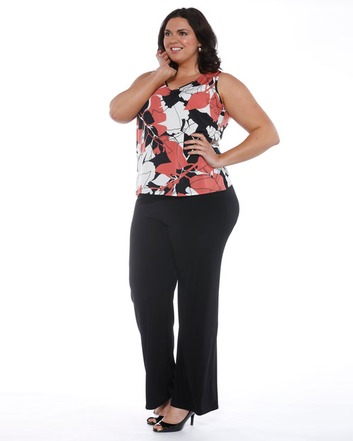 Plus size tops, plus size singlets, print top